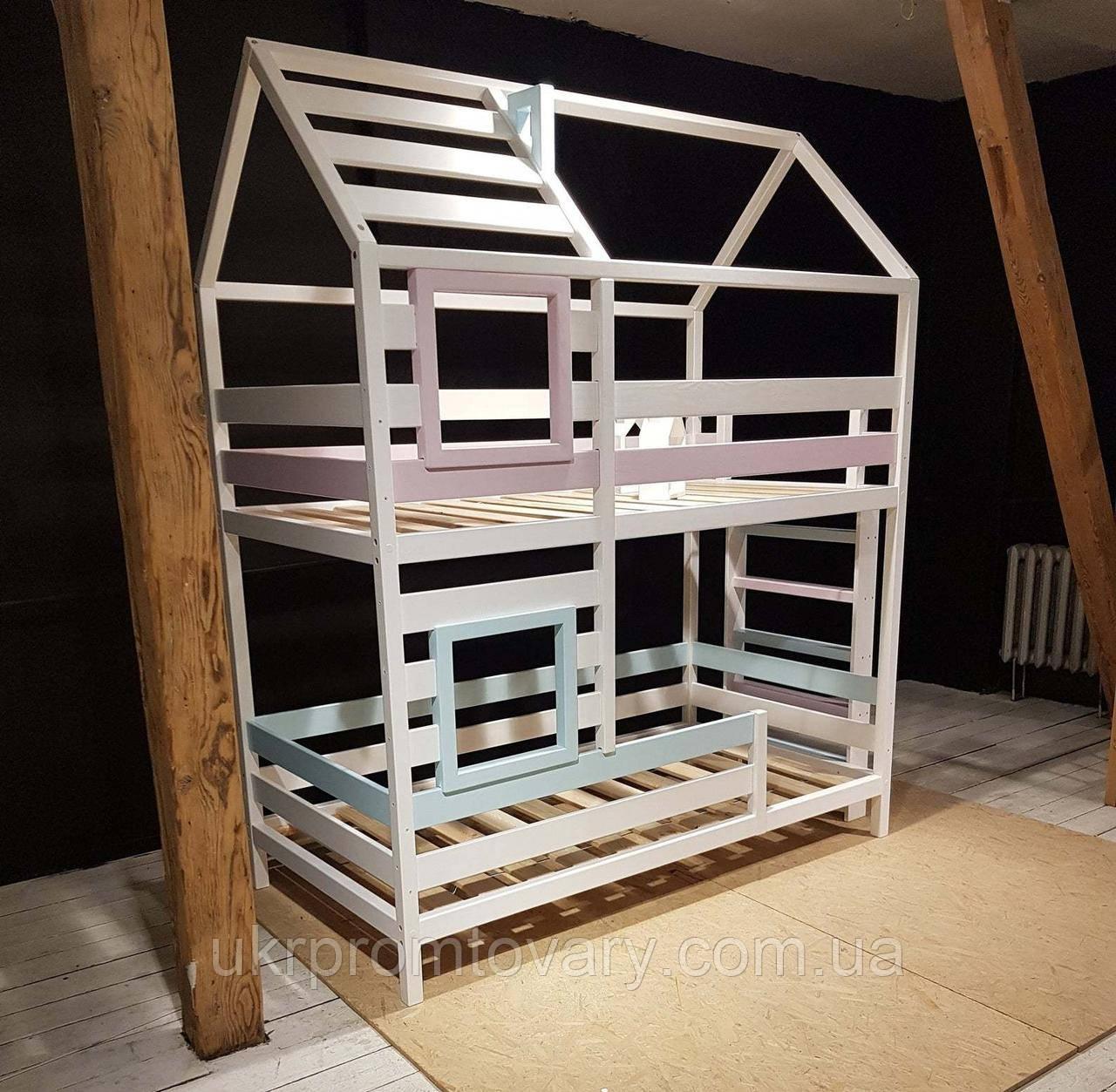 Ліжко LOFT DESIGN 64031, НАТУРАЛЬНЕ ДЕРЕВО, меблі Лофт Виробництво в Києві