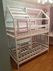 Ліжко LOFT DESIGN 64031, НАТУРАЛЬНЕ ДЕРЕВО, меблі Лофт Виробництво в Києві, фото 2