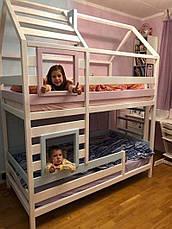 Ліжко LOFT DESIGN 64031, НАТУРАЛЬНЕ ДЕРЕВО, меблі Лофт Виробництво в Києві, фото 3