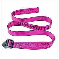 Ремни Off White малиновый, ремни Off White, ремни Off White, ремни офф вайт, розовый офф вайт
