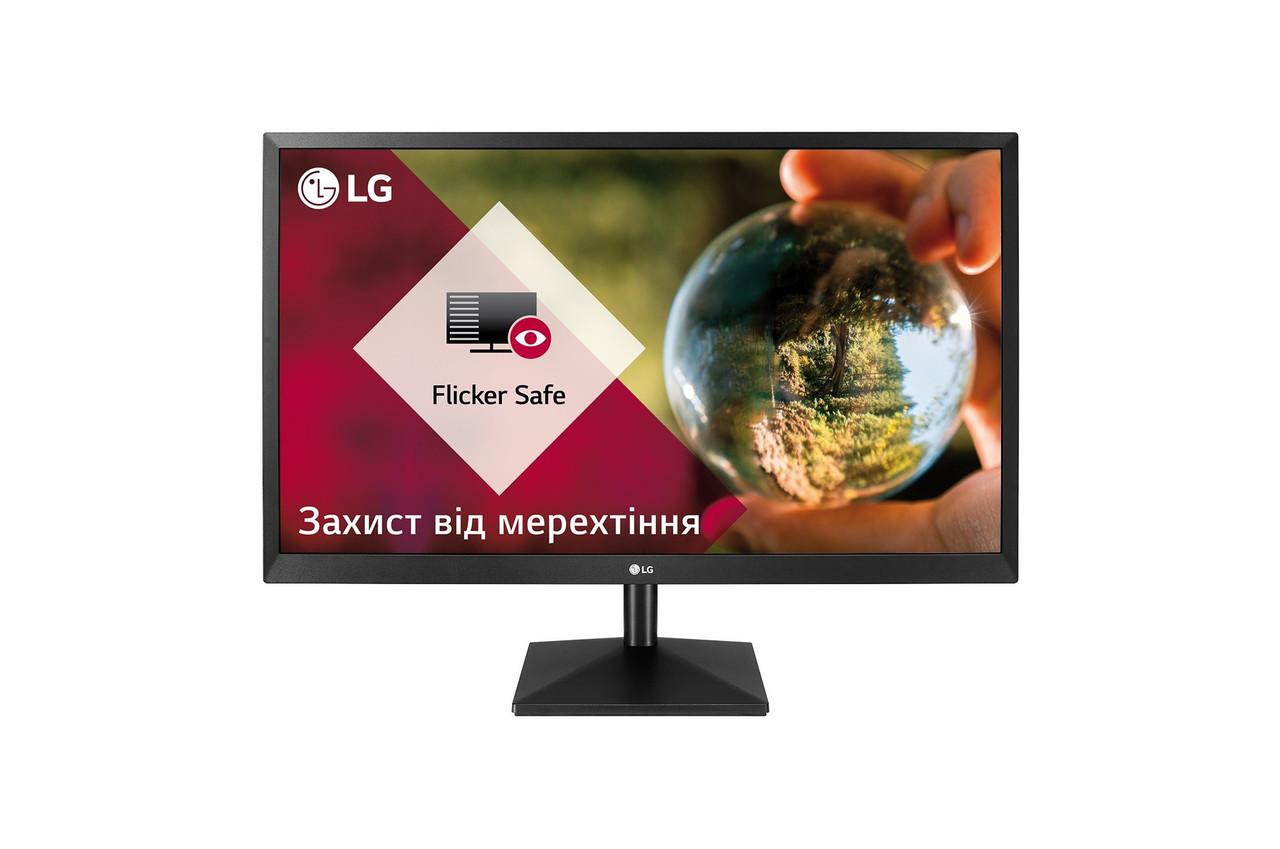 "Монитор LG 23.8"" 24MK430H-B IPS Black; 1920x1080, 5 мс, 250 кд/м2, D-Sub, HDMI"