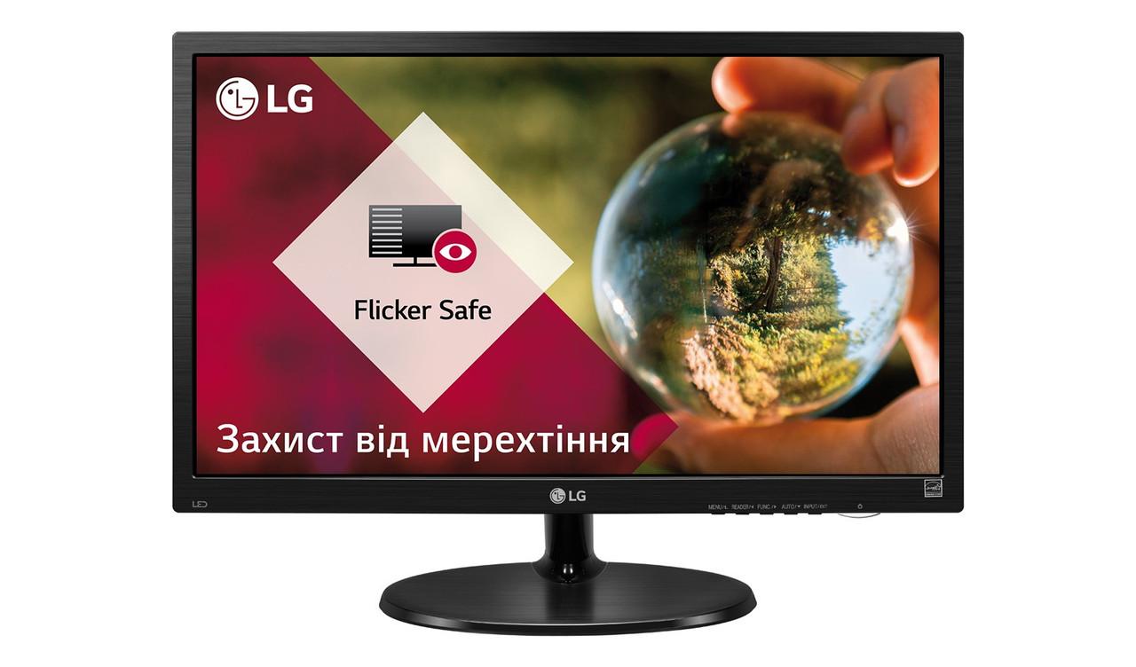 """Монитор LG 18.5"""" 19M38A-B Black; 1366 x 768, 5 мс (GtG), 200 кд/м2, D-Sub"""