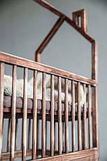 Кровать LOFT DESIGN 64091, НАТУРАЛЬНОЕ ДЕРЕВО, мебель Лофт Производство в Киеве, фото 3