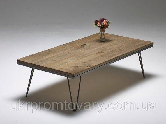 Кофейный столик LOFT DESIGN 64233, НАТУРАЛЬНОЕ ДЕРЕВО, мебель Лофт Производство в Киеве