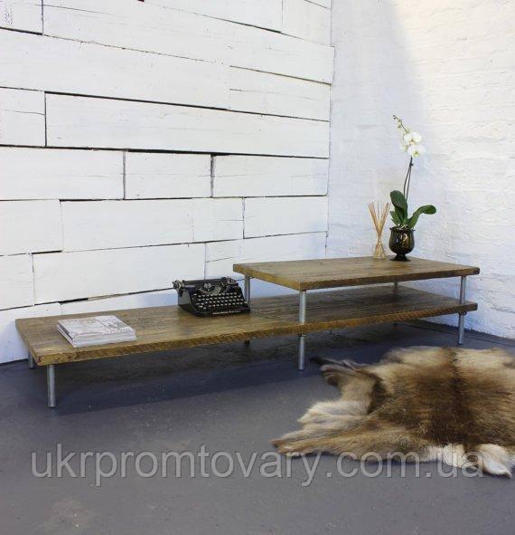 Кофейный столик LOFT DESIGN 64235, НАТУРАЛЬНОЕ ДЕРЕВО, мебель Лофт Производство в Киеве