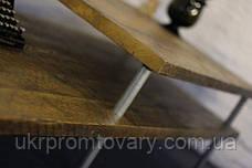 Кофейный столик LOFT DESIGN 64235, НАТУРАЛЬНОЕ ДЕРЕВО, мебель Лофт Производство в Киеве, фото 3
