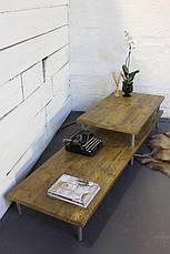 Кофейный столик LOFT DESIGN 64235, НАТУРАЛЬНОЕ ДЕРЕВО, мебель Лофт Производство в Киеве, фото 2