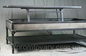 Кавовий столик LOFT DESIGN 64247, НАТУРАЛЬНЕ ДЕРЕВО, меблі Лофт Виробництво в Києві, фото 2