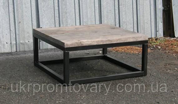 Кофейный столик LOFT DESIGN 64250, НАТУРАЛЬНОЕ ДЕРЕВО, мебель Лофт Производство в Киеве