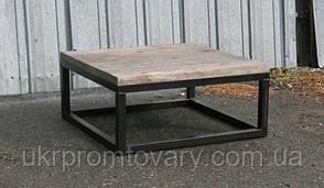 Кофейный столик LOFT DESIGN 64250, НАТУРАЛЬНОЕ ДЕРЕВО, мебель Лофт Производство в Киеве, фото 2