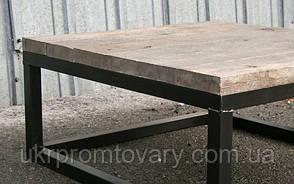 Кавовий столик LOFT DESIGN 64250, НАТУРАЛЬНЕ ДЕРЕВО, меблі Лофт Виробництво в Києві, фото 2