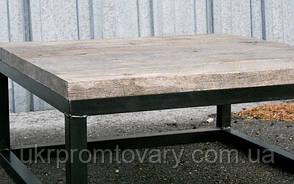 Кавовий столик LOFT DESIGN 64250, НАТУРАЛЬНЕ ДЕРЕВО, меблі Лофт Виробництво в Києві, фото 3