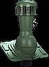 КРОВЕЛЬНЫЙ вентилятор WIRPLAST  для ЛЮБОЙ кровли  110  мм