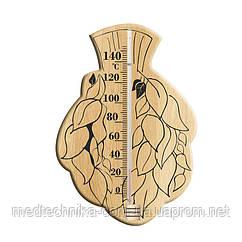 Термометр для сауны ТС исп. 6 на деревянном основании