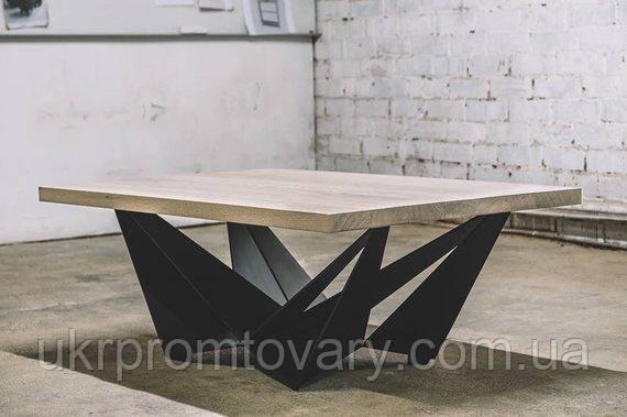Кавовий столик LOFT DESIGN 64266, НАТУРАЛЬНЕ ДЕРЕВО, меблі Лофт Виробництво в Києві