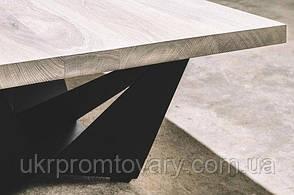 Кавовий столик LOFT DESIGN 64266, НАТУРАЛЬНЕ ДЕРЕВО, меблі Лофт Виробництво в Києві, фото 3