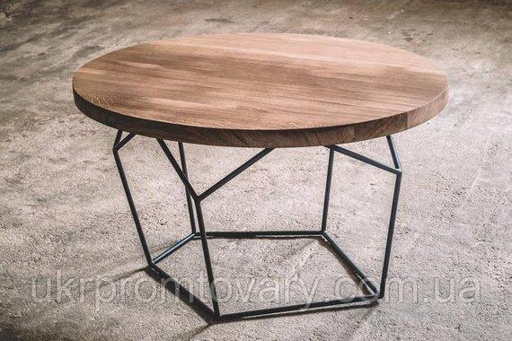Кофейный столик LOFT DESIGN 64271, НАТУРАЛЬНОЕ ДЕРЕВО, мебель Лофт Производство в Киеве