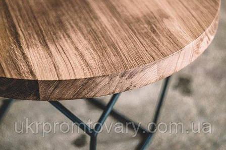 Кофейный столик LOFT DESIGN 64271, НАТУРАЛЬНОЕ ДЕРЕВО, мебель Лофт Производство в Киеве, фото 2