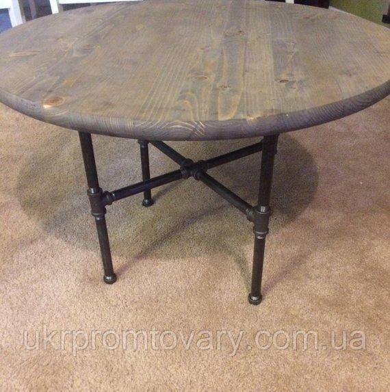 Кофейный столик LOFT DESIGN 64288, НАТУРАЛЬНОЕ ДЕРЕВО, мебель Лофт Производство в Киеве