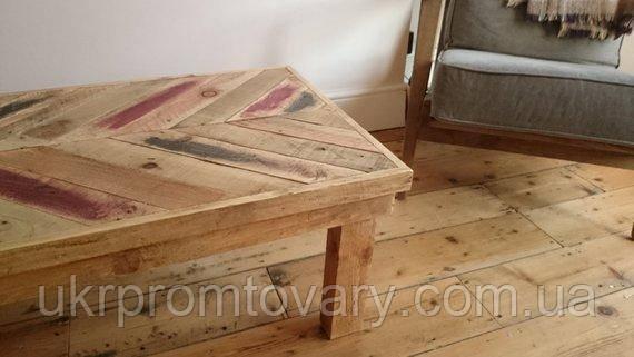 Кофейный столик LOFT DESIGN 64293, НАТУРАЛЬНОЕ ДЕРЕВО, мебель Лофт Производство в Киеве