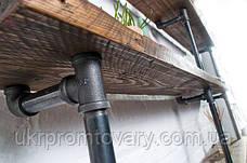 Система полок LOFT DESIGN 64413, НАТУРАЛЬНОЕ ДЕРЕВО, мебель Лофт Производство в Киеве, фото 3
