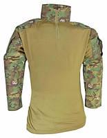 Тактическая рубашка MilTec Warrior Woodland-Arid Rip Stop 10513556