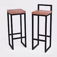 Барный стул GoodsMetall из металла в стиле ЛОФТ БС6