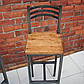 Барный стул в стиле ЛОФТ, фото 2