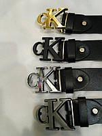 Ремень CALVIN KLEIN 4см кожа, ремни Calvin Klein, ремень calvin klein, ремни кельвин кляйн реплика