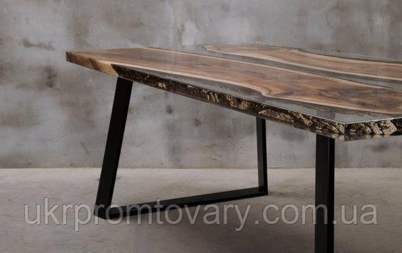 Обідній стіл LOFT DESIGN 6486, НАТУРАЛЬНЕ ДЕРЕВО, меблі Лофт Виробництво в Києві