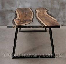 Обідній стіл LOFT DESIGN 6486, НАТУРАЛЬНЕ ДЕРЕВО, меблі Лофт Виробництво в Києві, фото 2