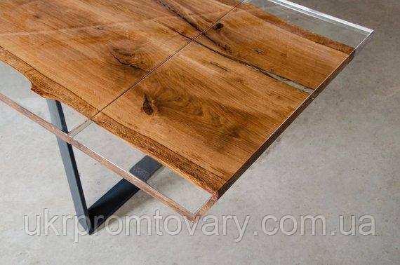 Обеденный стол LOFT DESIGN 64814, НАТУРАЛЬНОЕ ДЕРЕВО, мебель Лофт Производство в Киеве