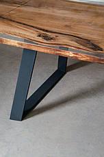Обеденный стол LOFT DESIGN 64814, НАТУРАЛЬНОЕ ДЕРЕВО, мебель Лофт Производство в Киеве, фото 2
