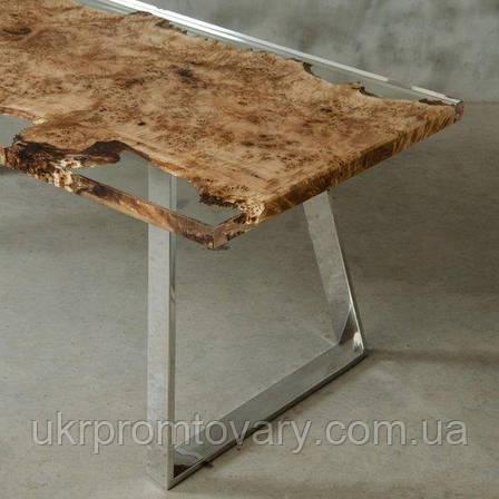 Обідній стіл LOFT DESIGN 64818, НАТУРАЛЬНЕ ДЕРЕВО, меблі Лофт Виробництво в Києві, фото 2