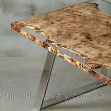 Обідній стіл LOFT DESIGN 64818, НАТУРАЛЬНЕ ДЕРЕВО, меблі Лофт Виробництво в Києві, фото 3