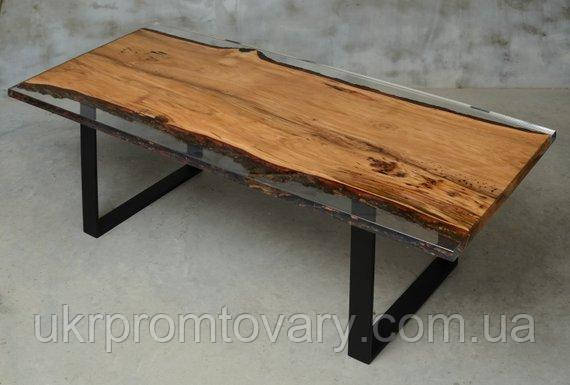Обеденный стол LOFT DESIGN 64825, НАТУРАЛЬНОЕ ДЕРЕВО, мебель Лофт Производство в Киеве