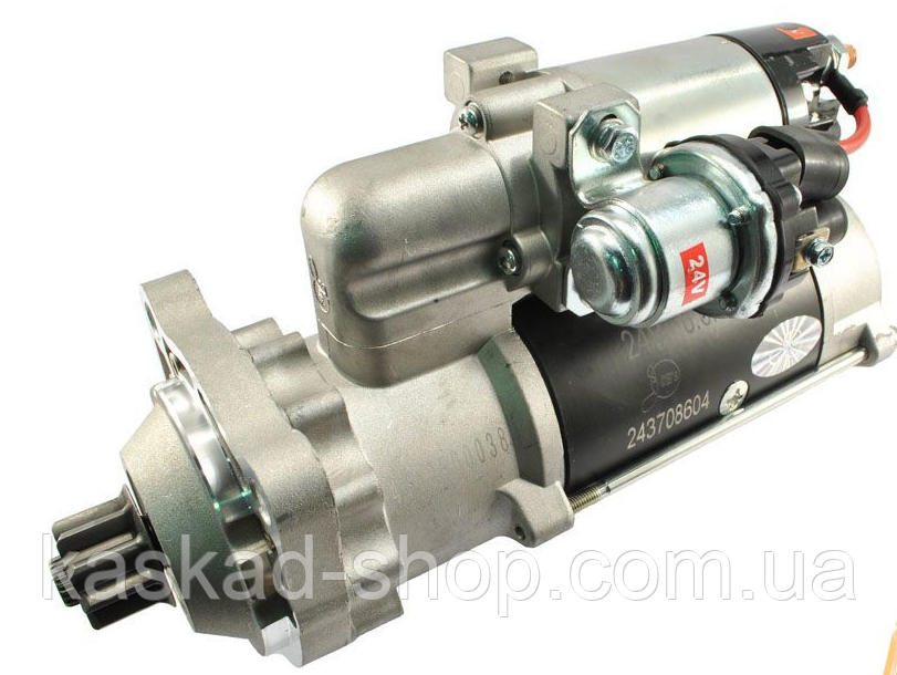 Стартер редукторный    Scania  Steyr 24в 6,6кВт