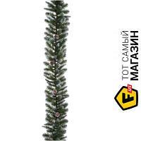 Гирлянда Triumph Tree Empress c шишками 1.8м, зеленый (8712799298071)
