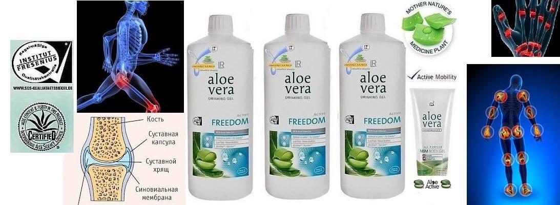 Алоэ Вера Фридом. Питьевой Гель 90% (Aloe Vera Drinking Gel), (Германия, LR) Набор 3 шт./комплект.