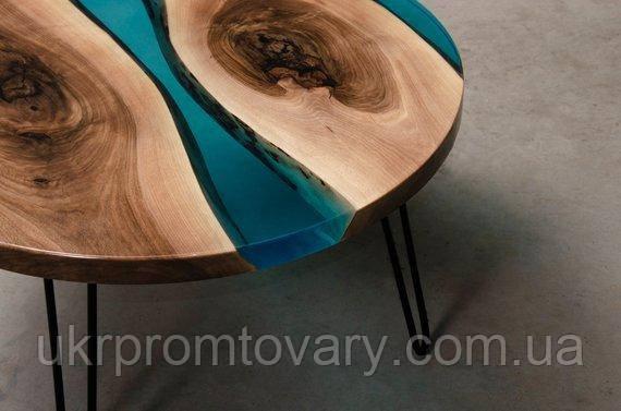Кавовий столик LOFT DESIGN 64856, НАТУРАЛЬНЕ ДЕРЕВО, меблі Лофт Виробництво в Києві