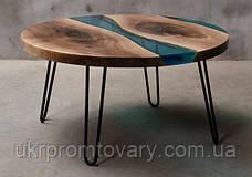 Кофейный столик LOFT DESIGN 64856, НАТУРАЛЬНОЕ ДЕРЕВО, мебель Лофт Производство в Киеве, фото 3