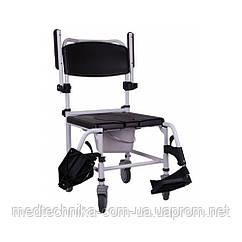 Кресло-каталка для душа и туалета OSD Wave