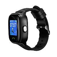 """Детские смарт-часы Canyon CNE-KW51 Black; 1.22"""" (240х240) сенсорный / GPS, LBS / 46 х 40 х 16 мм, 35 г / IP68 / 420 мАч / черный"""