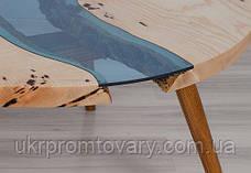 Кофейный столик LOFT DESIGN 64876, НАТУРАЛЬНОЕ ДЕРЕВО, мебель Лофт Производство в Киеве, фото 2