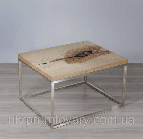 Кавовий столик LOFT DESIGN 64877, НАТУРАЛЬНЕ ДЕРЕВО, меблі Лофт Виробництво в Києві