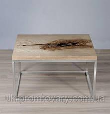 Кавовий столик LOFT DESIGN 64877, НАТУРАЛЬНЕ ДЕРЕВО, меблі Лофт Виробництво в Києві, фото 2