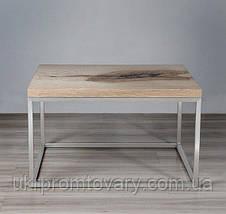 Кавовий столик LOFT DESIGN 64877, НАТУРАЛЬНЕ ДЕРЕВО, меблі Лофт Виробництво в Києві, фото 3