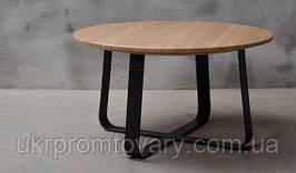 Кофейный столик LOFT DESIGN 64881, НАТУРАЛЬНОЕ ДЕРЕВО, мебель Лофт Производство в Киеве