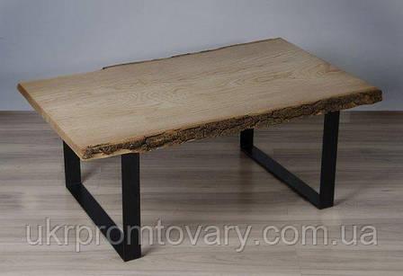 Кофейный столик LOFT DESIGN 64883, НАТУРАЛЬНОЕ ДЕРЕВО, мебель Лофт Производство в Киеве, фото 2