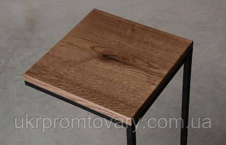 Кофейный столик LOFT DESIGN 64888, НАТУРАЛЬНОЕ ДЕРЕВО, мебель Лофт Производство в Киеве, фото 2